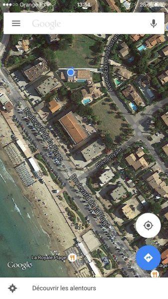 Carte Location Villa 118107 Saint Cyr sur Mer