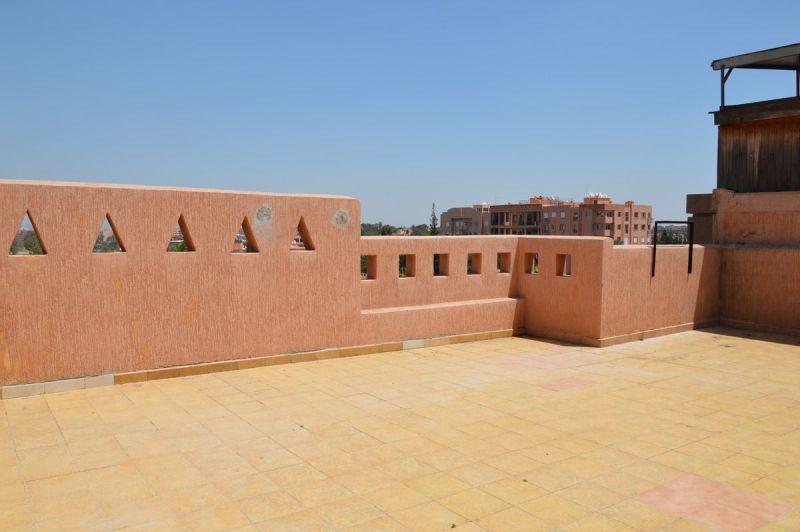 Vue de la terrasse Location Appartement 118460 Marrakech