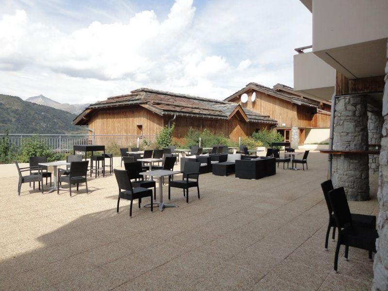Vue extérieure de la location Location Appartement 118538 Valmeinier