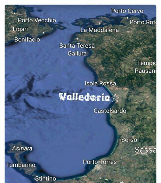 Carte Location Appartement 68457 Valledoria