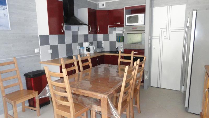 Cuisine américaine Location Appartement 68545 Gourette
