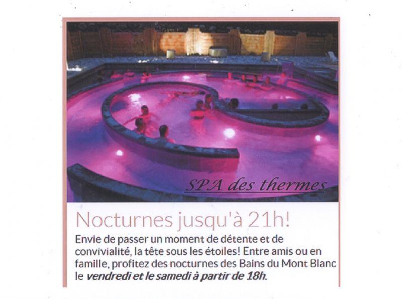 Vue à proximité Location Studio 69949 Saint Gervais Mont-Blanc
