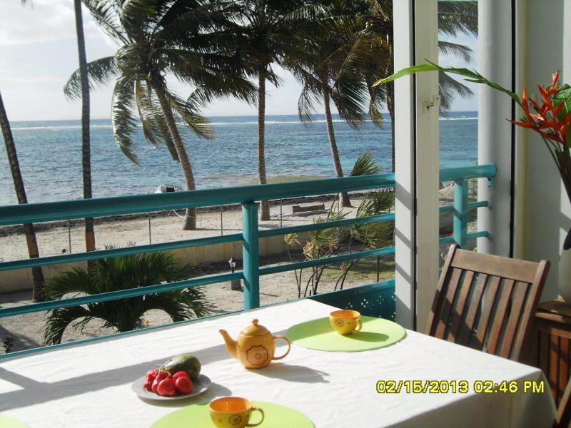 Vue depuis la location Location Appartement 73786 Sainte Anne (Guadeloupe)
