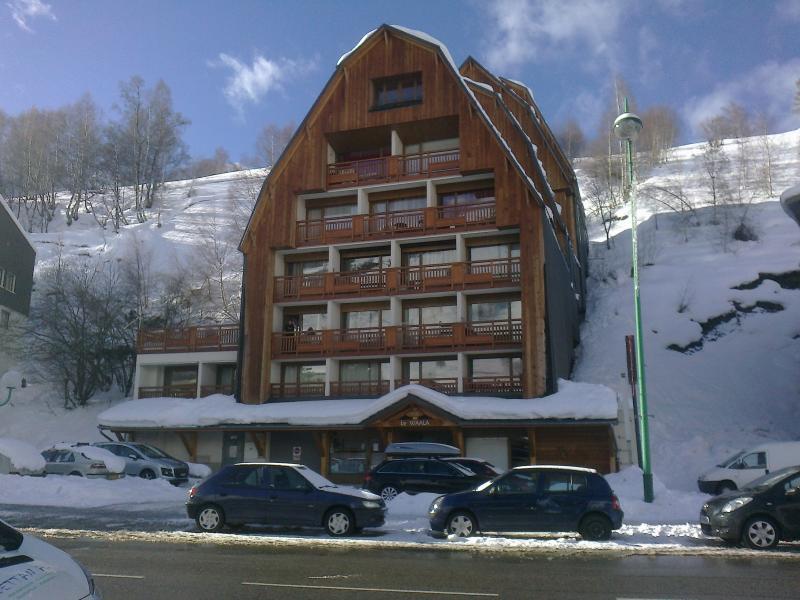 Vue extérieure de la location Location Studio 73843 Les 2 Alpes