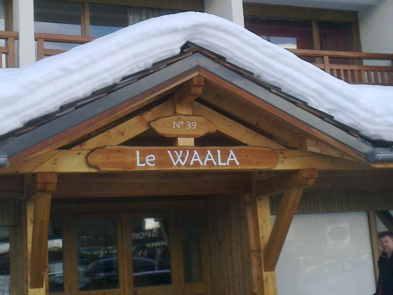 Entrée Location Studio 73843 Les 2 Alpes