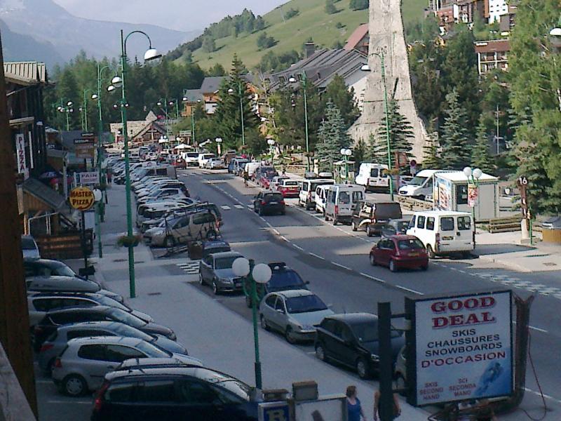 Vue du balcon Location Studio 73843 Les 2 Alpes