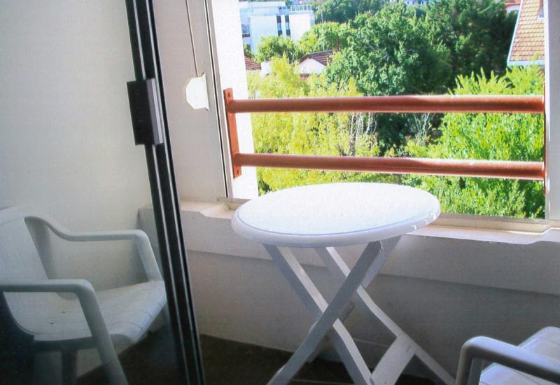 Vue du balcon Location Appartement 75728 Arcachon