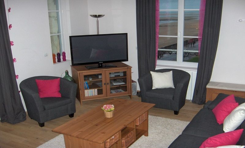 Salon Location Appartement 79299 Cabourg