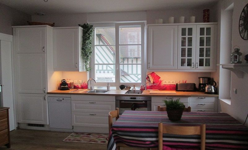 Coin cuisine Location Appartement 79299 Cabourg