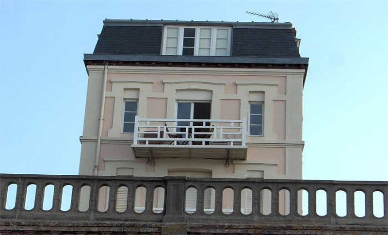 Vue extérieure de la location Location Appartement 79299 Cabourg