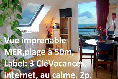 Salon Location Appartement 79685 Perros-Guirec