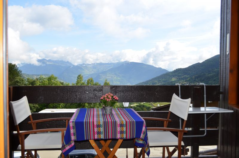 Vue du balcon Location Appartement 79763 Valmorel
