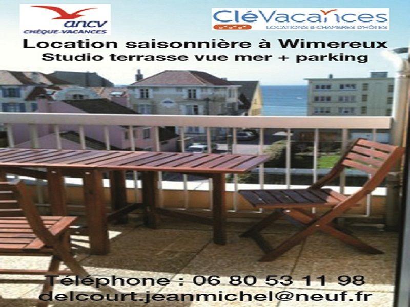 Terrasse Location Studio 80294 Wimereux
