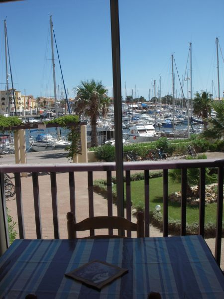 Vue du balcon Location Appartement 83876 Port Leucate
