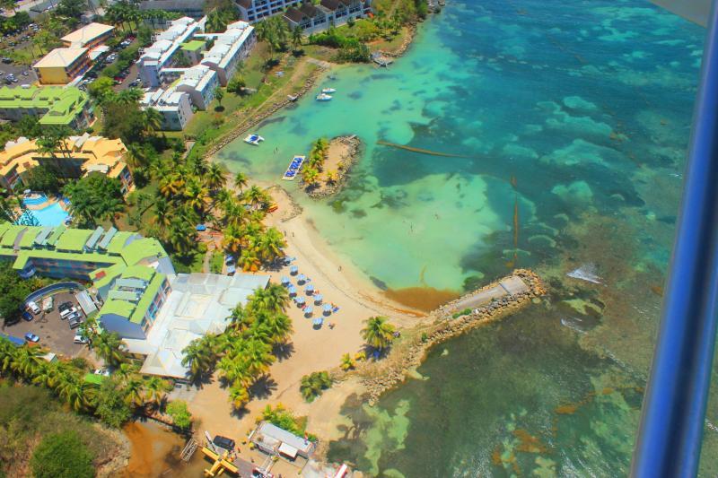 Vue extérieure de la location Location Appartement 86727 Gosier (Guadeloupe)