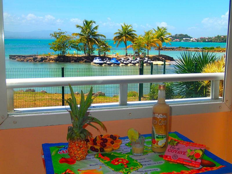 Vue de la terrasse Location Appartement 86727 Gosier (Guadeloupe)