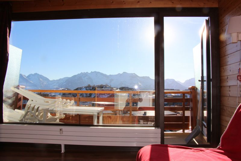 Vue du balcon Location Appartement 89990 Alpe d'Huez