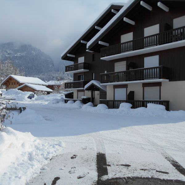 Vue extérieure de la location Location Studio 90652 Chamonix Mont-Blanc