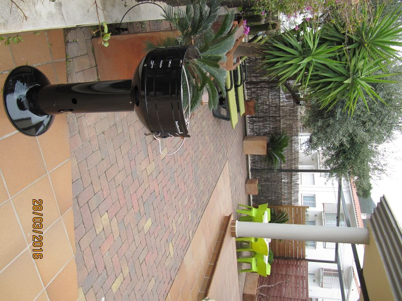 Vue de la terrasse Location Appartement 92383 Llança