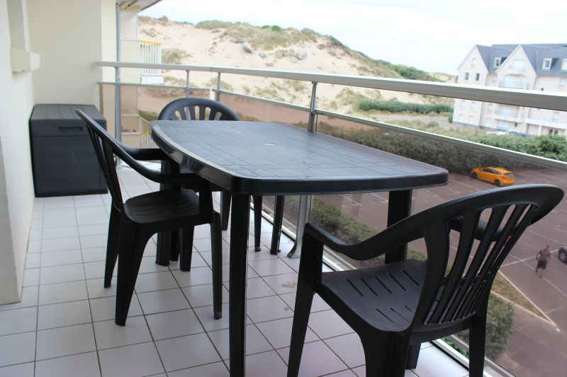 Vue du balcon Location Appartement 93061 Fort Mahon