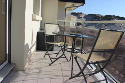 Vue du balcon Location Appartement 93061 Fort Mahon