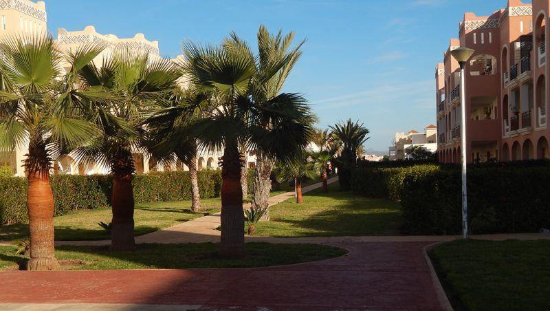 Vue extérieure de la location Location Appartement 93202 Saidia