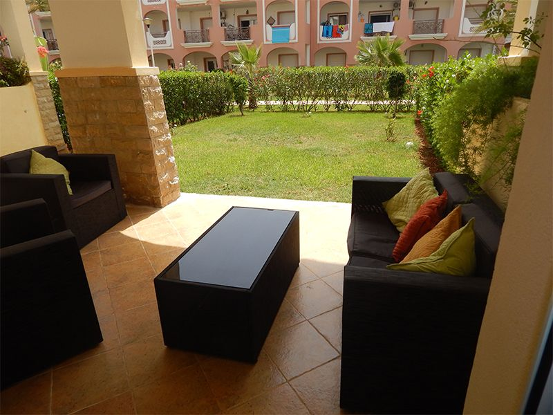 Terrasse Location Appartement 93202 Saidia