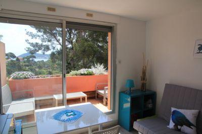 Vue depuis la location Location Studio 99731 La Seyne sur Mer