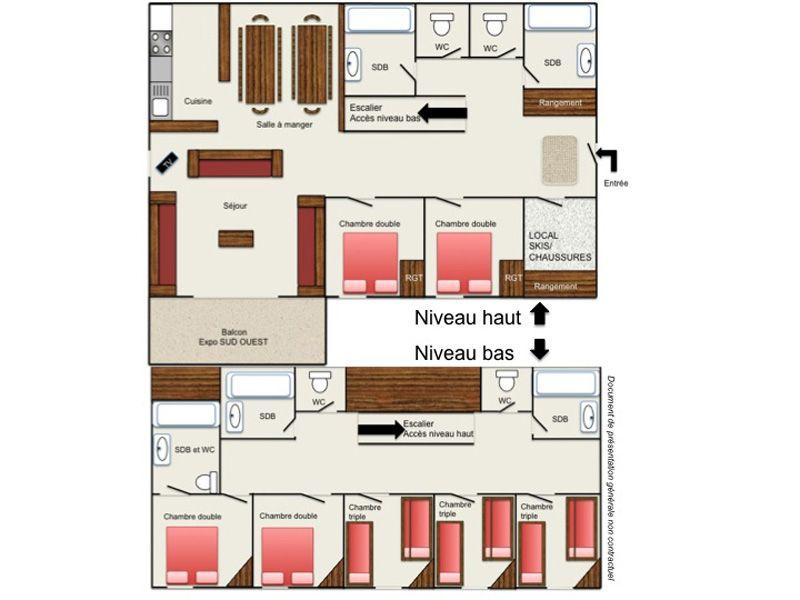 Location Appartement 101201 Les 2 Alpes