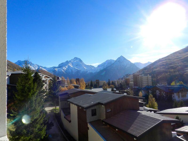 Vue du balcon Location Appartement 101201 Les 2 Alpes