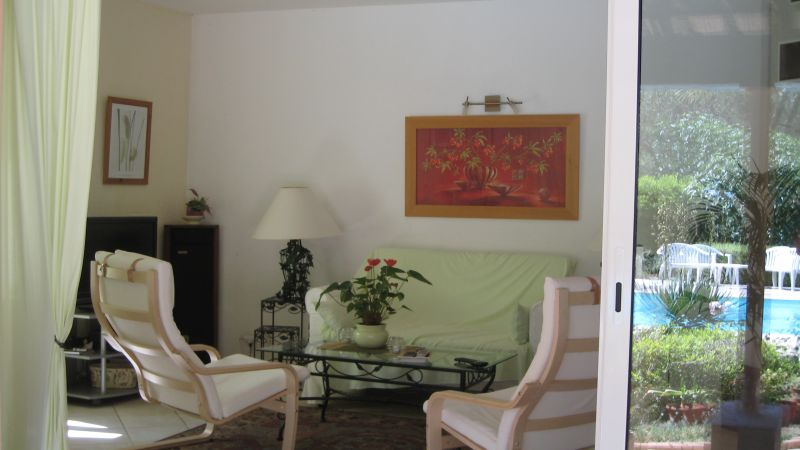 Vue de la terrasse Location Villa 103900 Saint Raphael