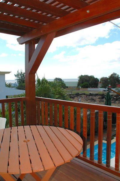 Vue du balcon Location Villa 105203 Tamarin