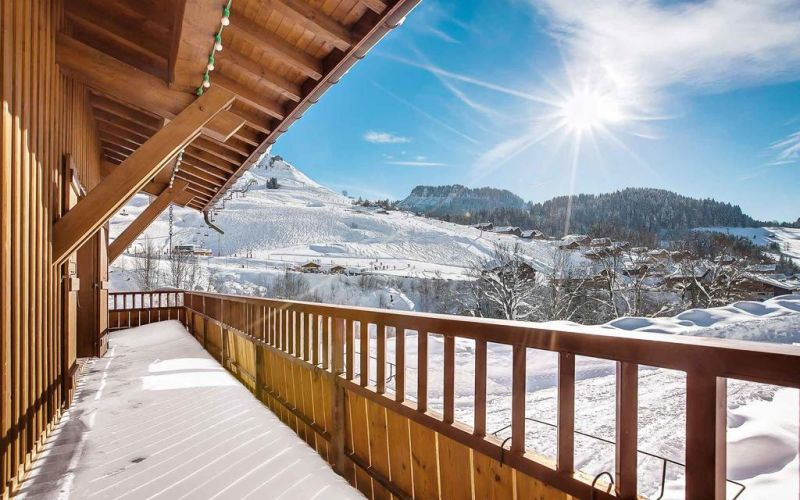 Terrasse Location Chalet 106041 Le Grand Bornand