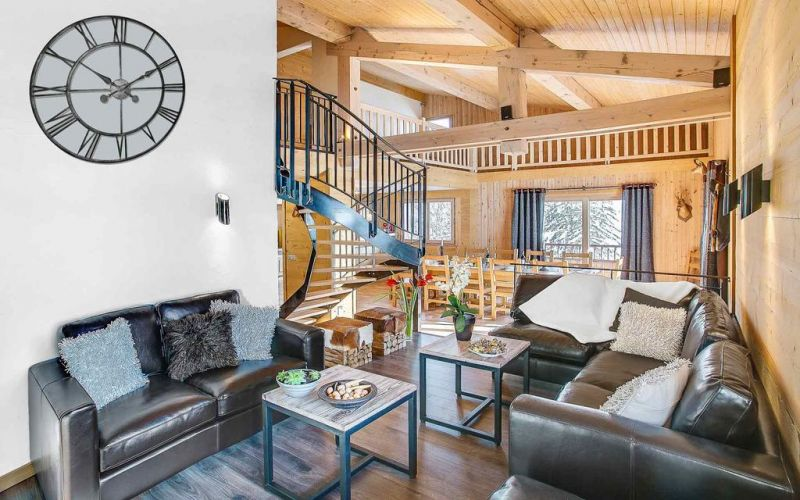 Salon Location Chalet 106041 Le Grand Bornand