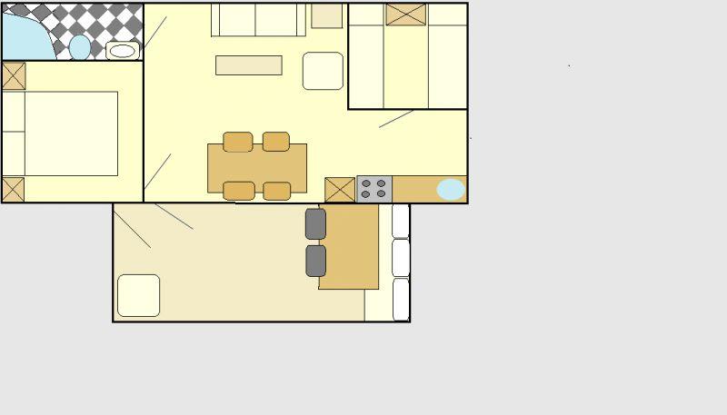 Plan de la location Location Bungalow 107493 Porlezza