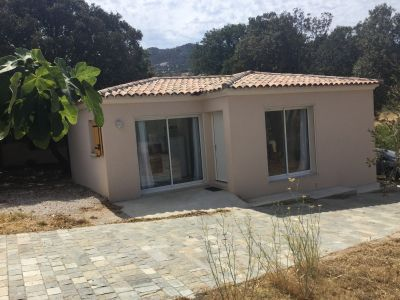 Vue extérieure de la location Location Villa 111491 Calvi
