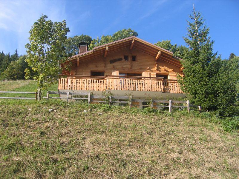 Vue extérieure de la location Location Chalet 112531 La Clusaz