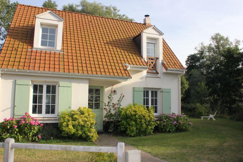Vue extérieure de la location Location Villa 113746 Wissant