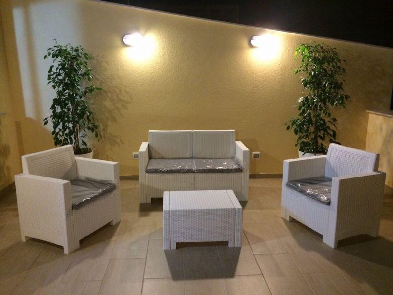 Vue de la terrasse Location Appartement 113998 Castellammare del Golfo