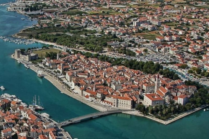 Carte Location Appartement 114346 Trogir
