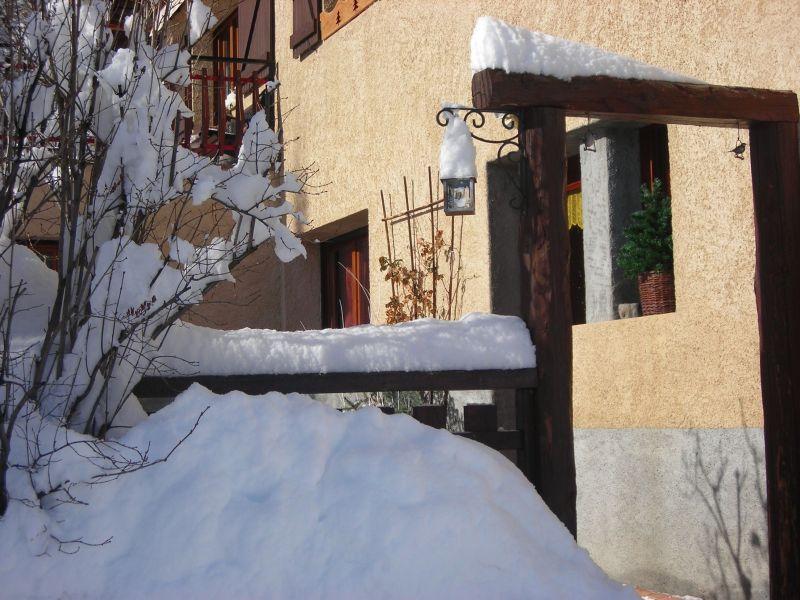 Vue extérieure de la location Location Appartement 117908 Serre Chevalier