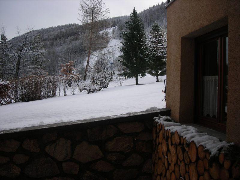 Vue depuis la location Location Appartement 117908 Serre Chevalier
