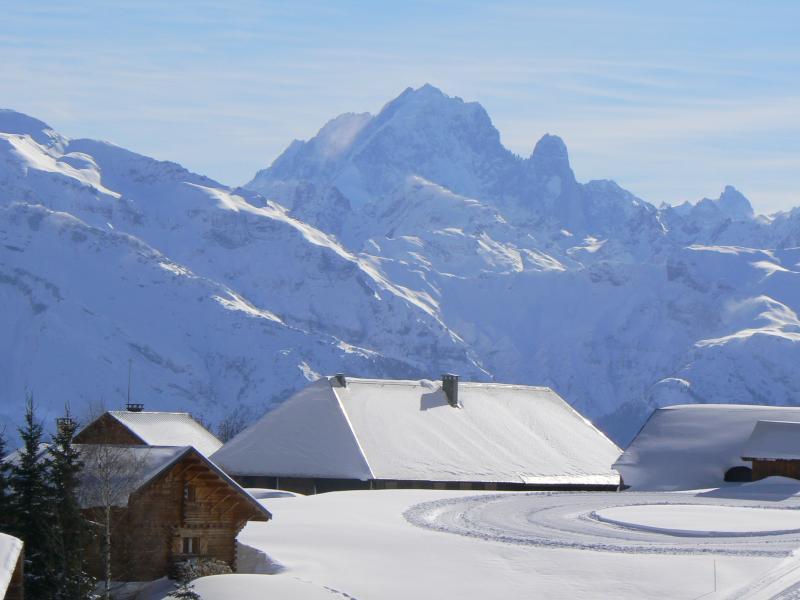 Vue extérieure de la location Location Chalet 66149 Praz de Lys Sommand