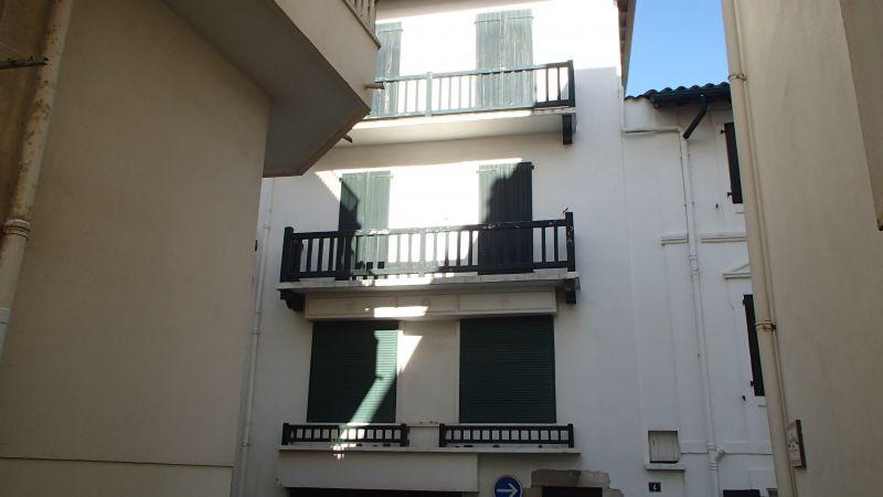 Vue extérieure de la location Location Appartement 67539 Saint Jean de Luz