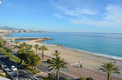 Vue de la terrasse Location Appartement 71073 Cagnes sur Mer