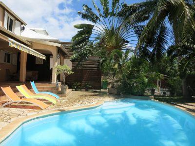 Piscine Location Villa 74576 La Saline les Bains