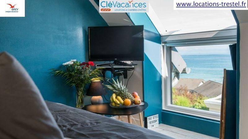 Vue depuis la location Location Appartement 77591 Perros-Guirec