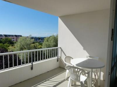 Vue de la terrasse Location Studio 79381 La Rochelle