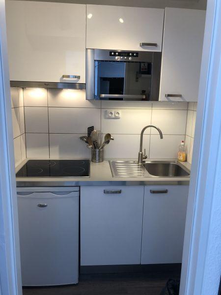 Cuisine indépendante Location Appartement 80072 Le Corbier