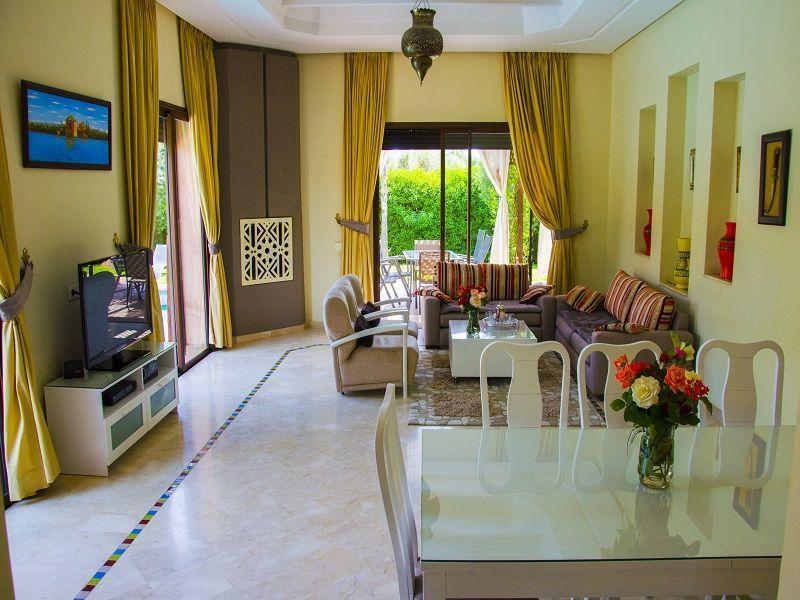 Salle à manger Location Villa 86815 Marrakech